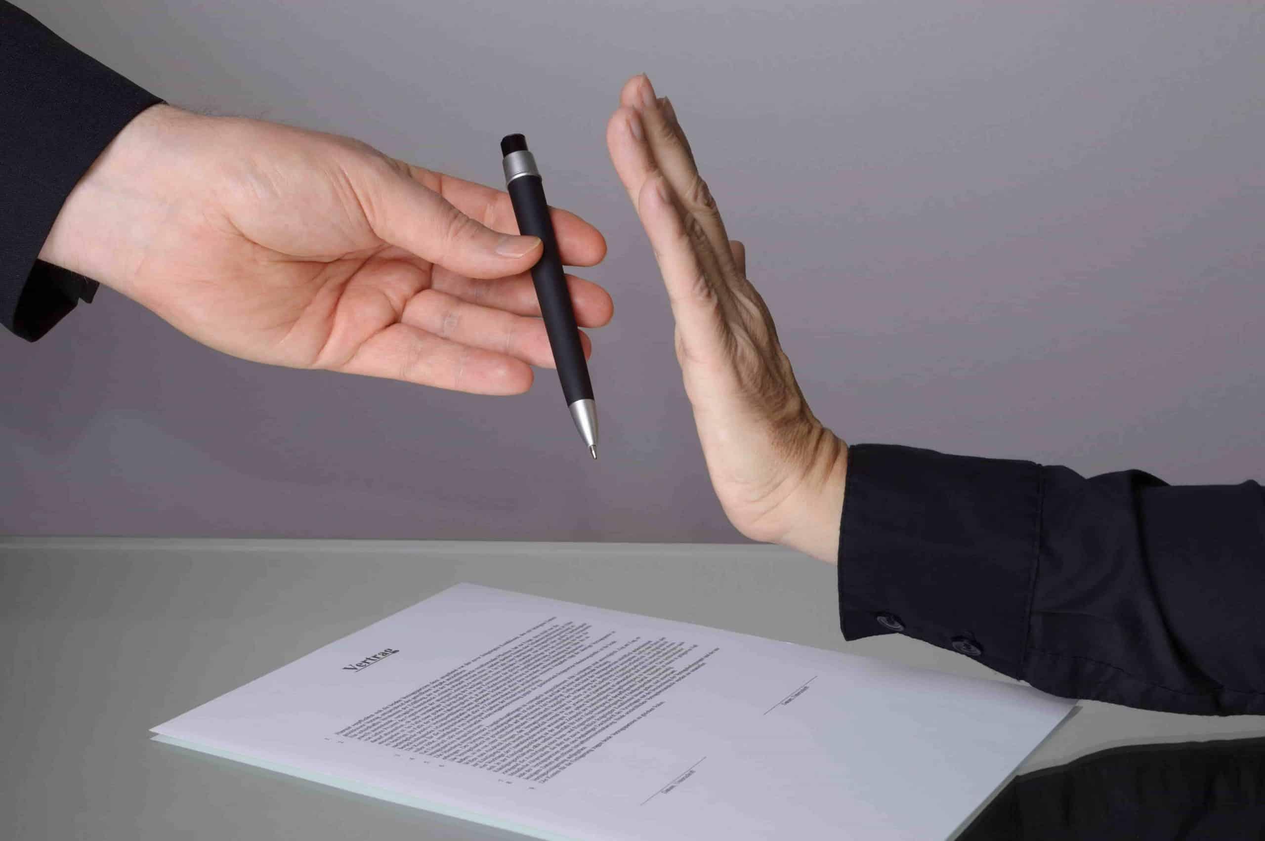 Immobilienmakler keine Vertragsbindung